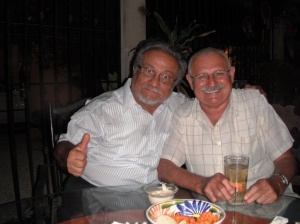 Jorge with Julio Piña