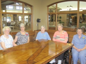 The good ladies of Winston Retirement Village in Kitchener, Ontario, Canada