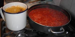 Tomato Sauce and Broth