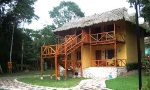 We'll stay the next 2 nights at an ecolodge