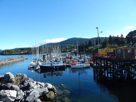 The ferry terminal to Salt Spring Island from Crofton