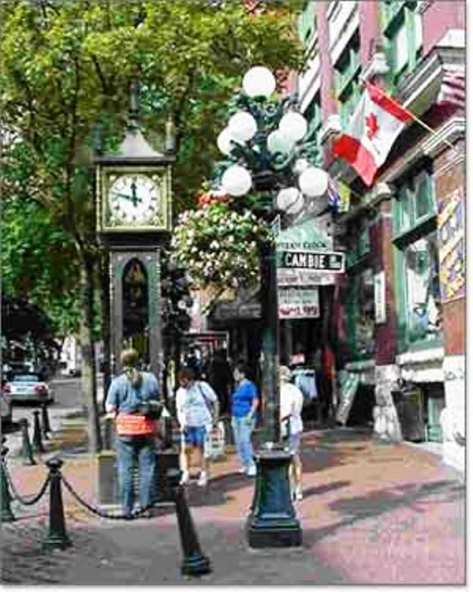 Gastown, the oldest part of the city