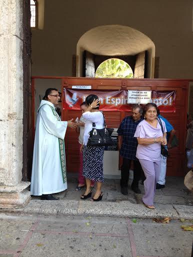 Parishioners say goodbye