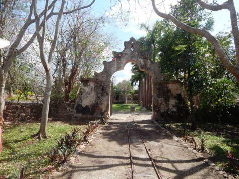 Hacienda Ochil entrance