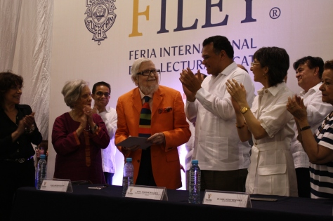 Yucatan's governor and honored guests