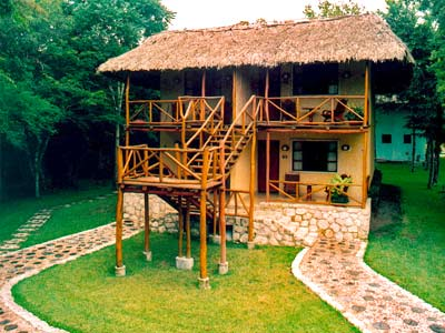 Our rooms at Eco Village Chicaná