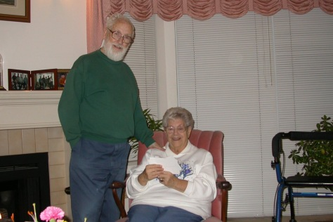 12 Lewis and Chris in 2004