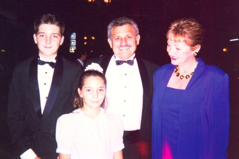 Jorge, Carlos, Maggie and Joanna at the TTT Graduation in 1995