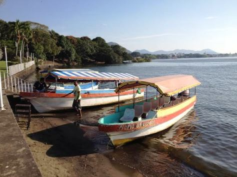 Catemaco boats
