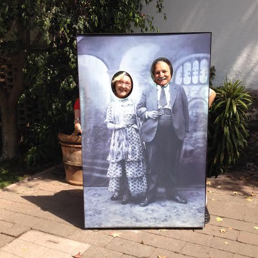 Jorge and Joanna at La Casa Azul