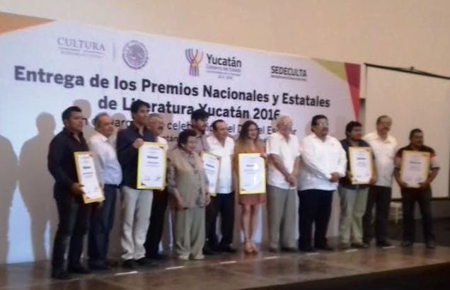 Winners of the SEDACULTURA awards for writing